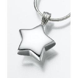 Star Pendant Urn Necklace