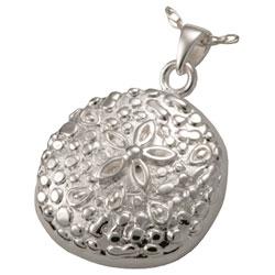 sand dollar cremation jewelry