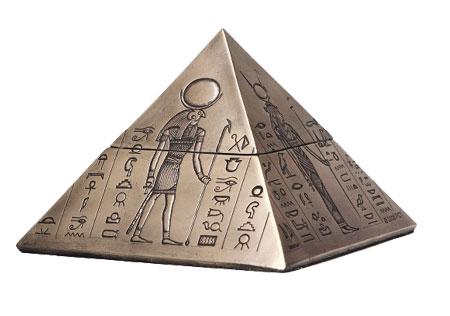 Egyptian Pyramid Keepsake Urn