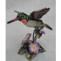 small hummingbird urn