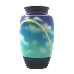 Rainbow Cremation Urn