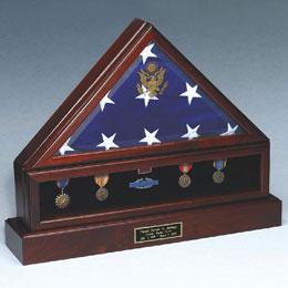 Military Flag Case Urn