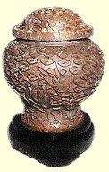 cloisonne urn