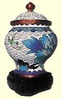 cloisonne urn process