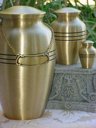 urn medallion