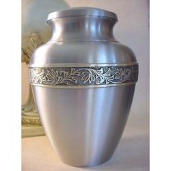 Satine Pewter Urn