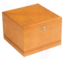 Simple Pine Box Urn