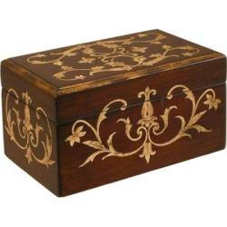 Pine Box Wood Urn